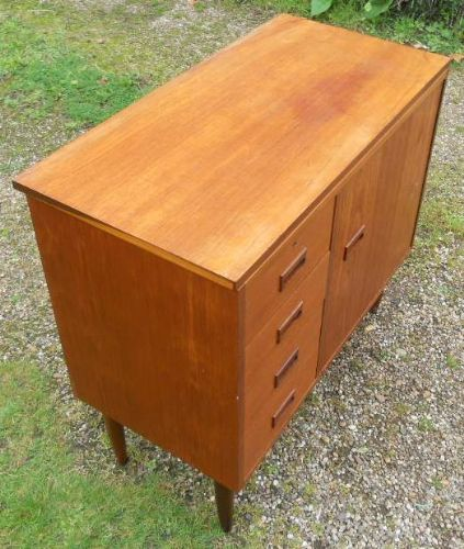 Retro Teak Side Unit
